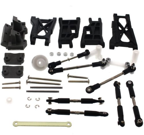 lash 3.3 2WD FRONT REAR ARMS TIE ROD TURNBUCKLES SERVO SAVER ()