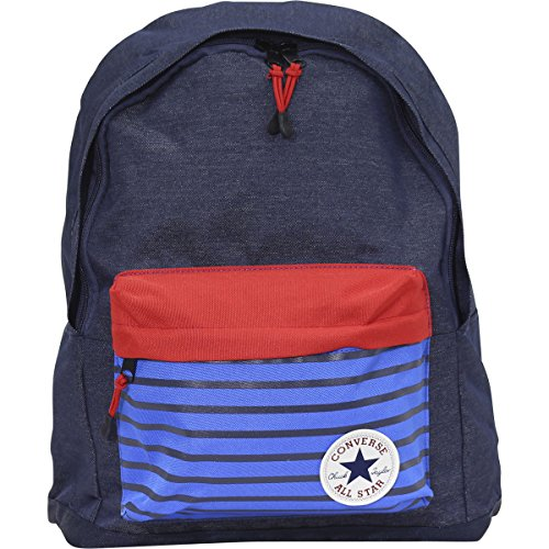 Converse Little/Big Boy's All-Star Navy/Heather Denim Rucksack Backpack