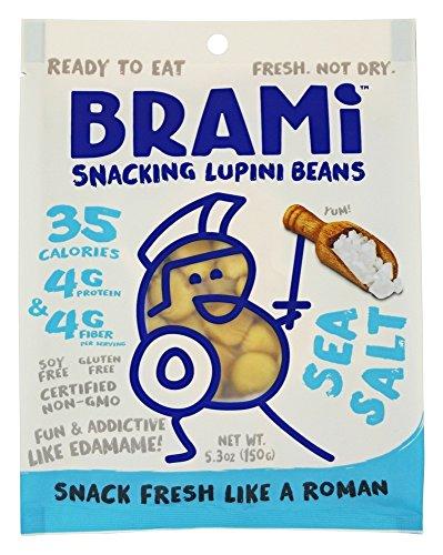 Brami Lupini Snack Bean Sea Salt, 5.3 oz ()