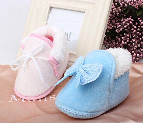 cosanter AU primavera y en otoño y en invierno bebé algodón grueso caliente zapatos zapatos Bebé de suela suave arco