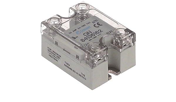 Crouzet GN 84136162 - Semiconductor de potencia para cafetera Expobar Markus, Elen, Megacrem, G-10, Monroc (longitud 58 mm, ancho 45 mm): Amazon.es: Industria, empresas y ciencia
