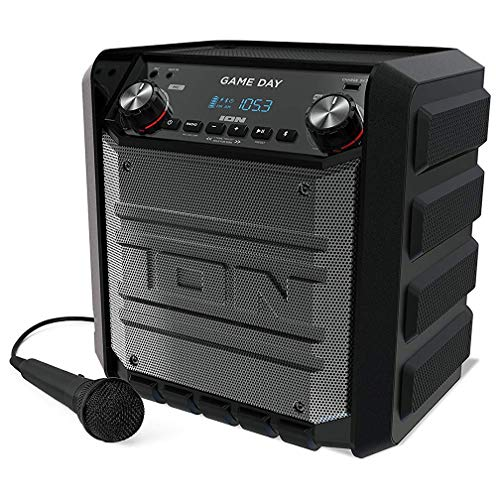 Ion Tailgater Express Game Day Bluetooth Speaker (Tailgate Radio)