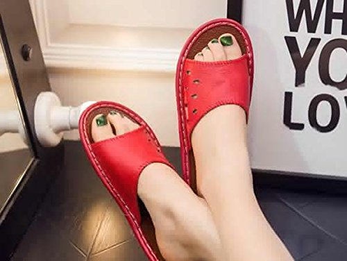 pour Chaussons Women Red Femme TELLW xgYwqP5P