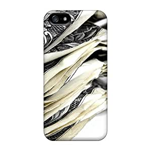 Anti-scratch Case Cover NadaAlarjane-y Protective Money Stacked Up Case For Iphone 5/5s