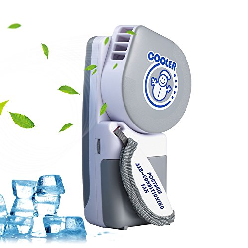 TAPU Mini Handheld Fan, Personal Portable Fan Small Cooler Fan Speed  Adjustable Mini Air Conditioner
