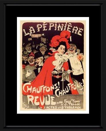 Belle Epoque Prints: La Pepiniere, Theatre Poster 1898 - Artist - Jules Alexandre Grun