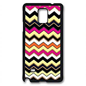 Samsung Galaxy Note 3 N9000 Case, iCustomonline Colorful Chevron Pattern Designs Case for Samsung Galaxy Note 3 N9000 Black