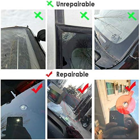 Glasreparaturfl/üssigkeit ZUHANGMENG Glaskratzer-Reparaturfl/üssigkeit Glaskratzer-Reparaturwerkzeug f/ür Reparaturwerkzeuge f/ür Windschutzscheiben-Chips hohe Reparaturfestigkeit