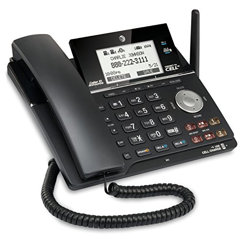 AT&T TL16013 DECT 6.0 Expandable 2-Line Corded Phone Featuri