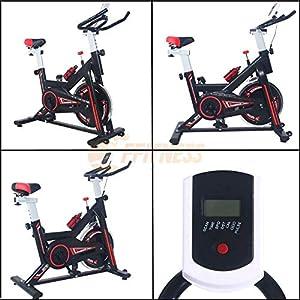 51E6rkTF qL. SS300 AERO SPIN 6 - Spinning bike con volano da 6 kg | Bicicletta per allenamento a casa dimagrante, forza, resistenza | Il…