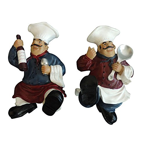 Ambitions D15519 African American Chef Wall Art Towel Hanger, 8