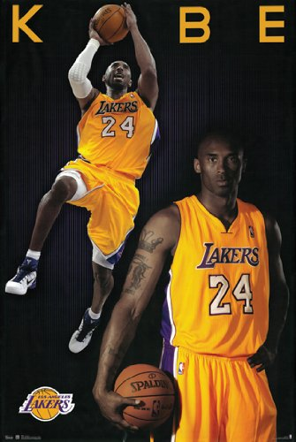 Poster Los Angeles Lakers Basketball - Hotstuff Kobe Bryant LA Laker Poster Print Sports Los Angeles NBA Basketball 24