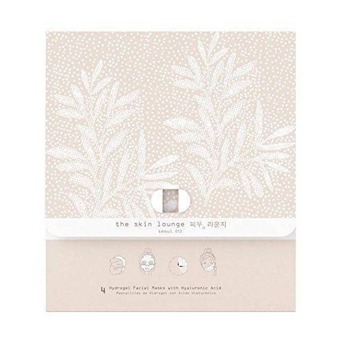The Skin Lounge Hydrogel HA Pack of 4 - 4の皮膚ラウンジヒドロゲルヘクタールパック [並行輸入品]   B071RM8874