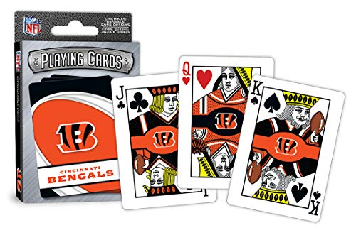 MasterPieces NFL Cincinnati Bengals Playing Cards - Bengals Card