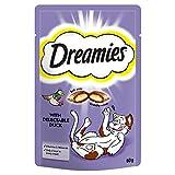 Dreamies Cat Treats Various Flavours 60g X 8 Pack Bulk Deal! (Duck)