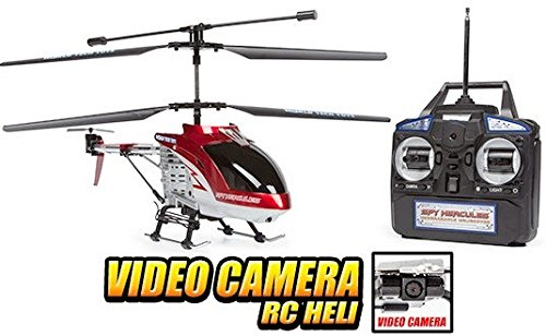 World Tech Toys 3.5 Channel Spy Hercules Unbreakable Remote Control Gyro Helicopter