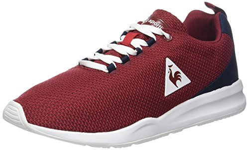 Le Coq Sportif Herren Techracer Summer Mesh Sneaker, Dress Blue Rot (ruby Wine Rouge)