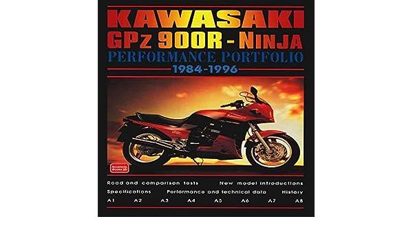 Kawasaki GPZ 900R Ninja Performance Portfolio 1984-1996 By ...