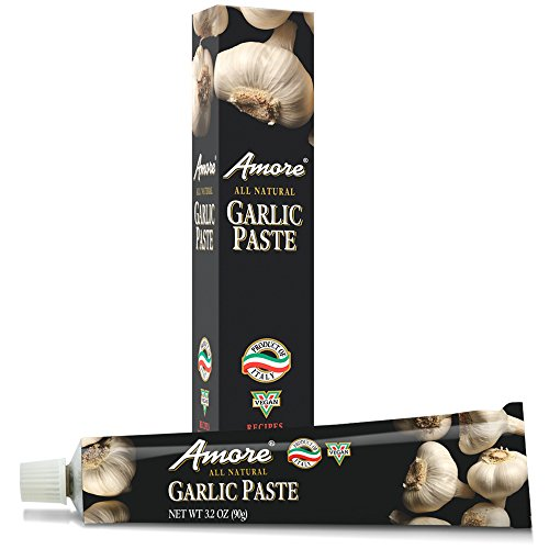 Amore Garlic Paste - Amore Paste Garlic, 3.2-Ounce Tubes (Pack of 6)