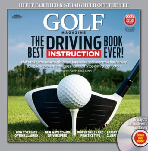 GOLF The Best Driving Instruction Book Ever! (Golf (Best Driving Instruction Books)