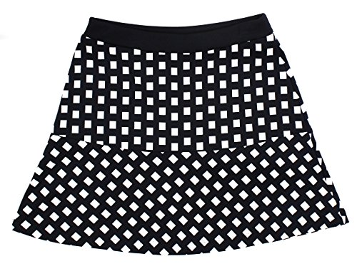 Michael Kors Printed Flounce Mini Skirt Size 10