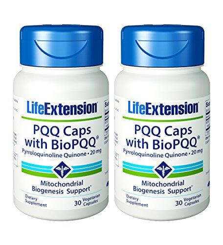 Life Extension PQQ Caps with BioPQQ 20 Mg 30 vegetarian c...