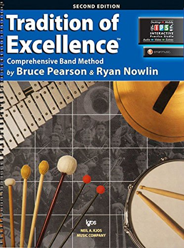 W62PR - Tradition of Excellence Book 2 - Percussion