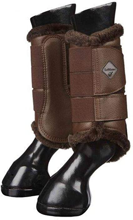 Fleece Lined Pair Brushing Boots