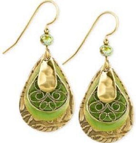 Green Gold Filigree - 5