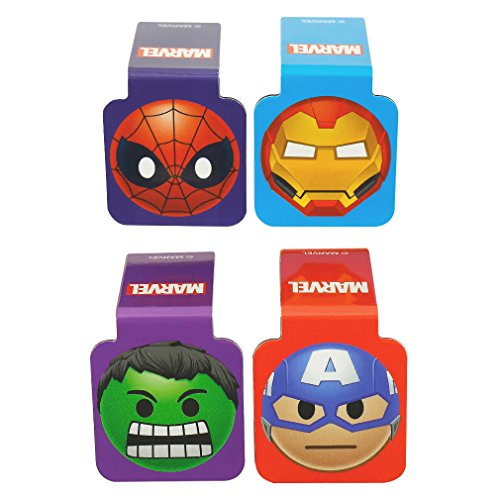 Ata-Boy Marvel Comics Superheroes Emojis Set of 4 1