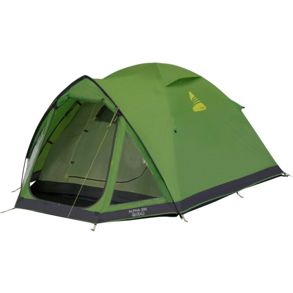 Vango Unisex Adultos Alpha 300 Tienda de campa/ña Camping Camping Apple Green 3 Personas