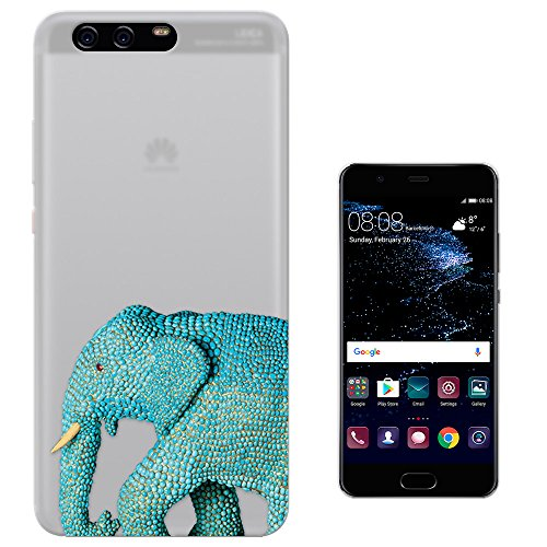 c00905-wildlife-blue-indian-african-elephant-tusks-design-huawei-p10-plus-55-case-gel-silicone-all-e