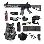 Valken Tactical Valken Battle Machine Trg-M Storm Trooper Airsoft Rifle Package