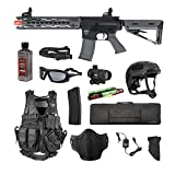 Valken Tactical Valken Battle Machine Trg-M Storm Trooper Airsoft Rifle Package