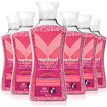 Method Naturally Derived Fragrance Booster, Spring Garden, 6 Count