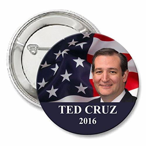 Ted Cruz For President 2016 Button - Ted Cruz Presidential Button - 2""