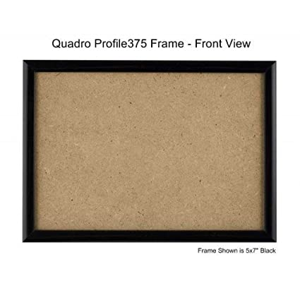 Amazoncom Quadro Frames 6x85 Inch Picture Frame Black Style