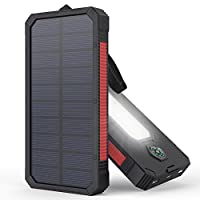 Solar Charger, MeGa 10000mAh Portable So...