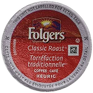 Folgers Gourmet Selections Single Cup for Keurig Brewers, Classic Roast, 24 Count
