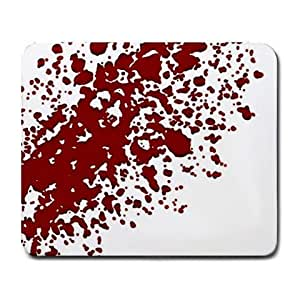 Blood Splatter Large Mousepad Mouse Pad Great Gift Idea