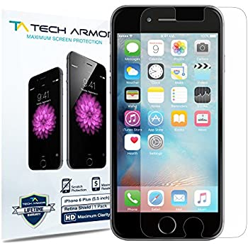 "Apple iPhone 6 / 6 Plus RetinaShield Screen Protector, Tech Blue Light Filter Apple iPhone 6S Plus / iPhone 6 Plus (5.5"") Film Screen Protector [1]"