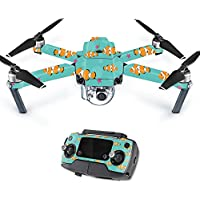 MightySkins Protective Vinyl Skin Decal for DJI Mavic Pro Quadcopter Drone wrap cover sticker skins Clowning Around
