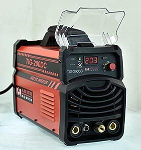 200 Amp TIG Stick ARC DC Inverter Welder 110/230V Welding Soldering Machine New from Amico