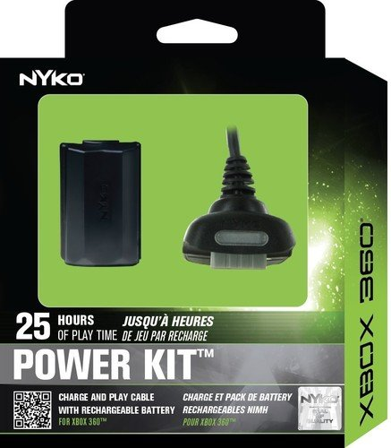 Nyko Power Kit 360 for Xbox 360 (Black)