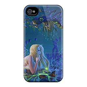 First-class Case Cover For Iphone 4/4s Dual Protection Cover Underwater Fantasy