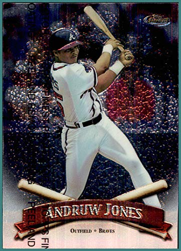 1998 Finest #2 Andruw Jones ATLANTA BRAVES