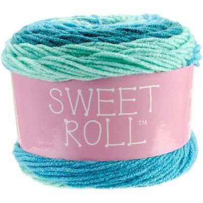 1047-12 YARN SWEET ROLL-FROSTY