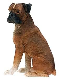 Boxer Dog - Collectible Statue Figurine Figure Sculpture Puppy Rare