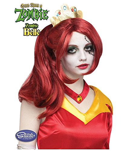 Once Upon a Zombie Belle Wig Belle Red Hair Wig