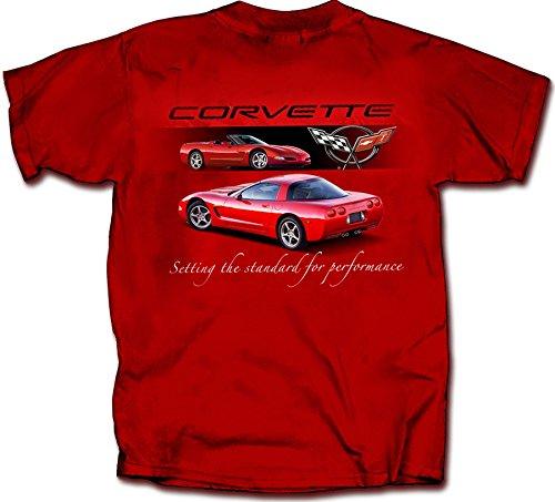 - Chevrolet 1997 To 2004 Corvette C5 - Men's T-Shirt by Joe Blow Tee's 100% Cotton